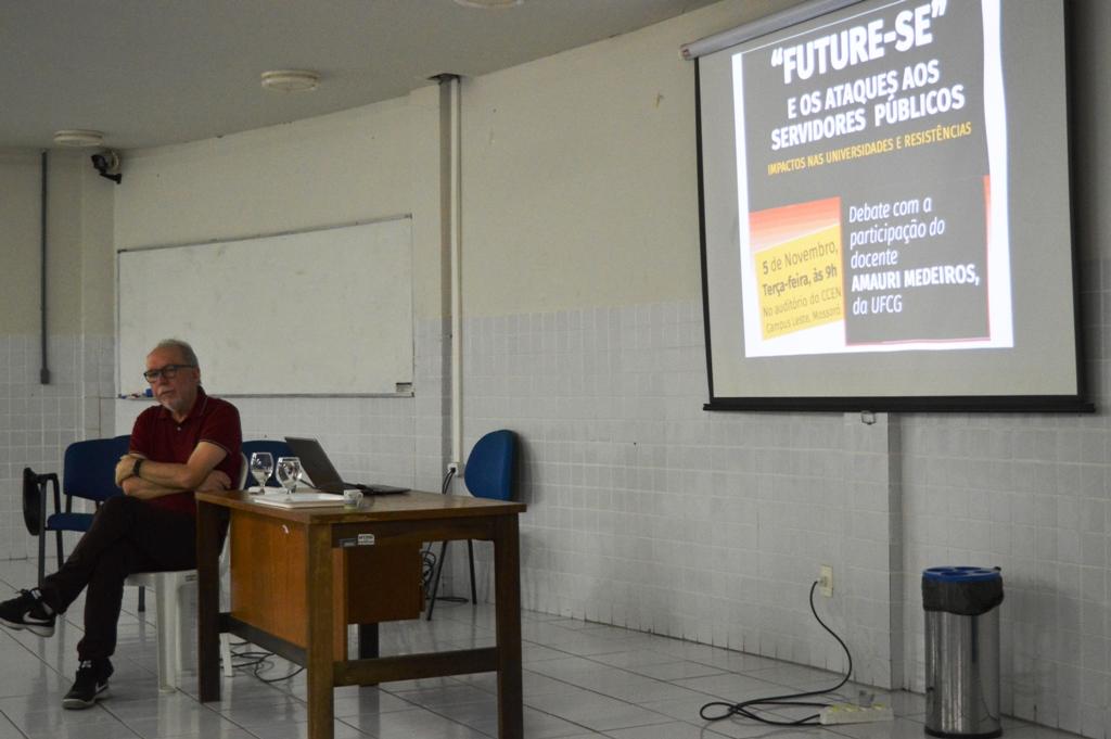 """O """"Future-se"""" que não representa nenhum futuro para a Universidade pública – Um bate papo com o docente Amaury Fragoso"""