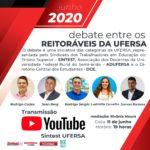 Segmentos da Ufersa promovem debate entre Reitoráveis amanhã (11)