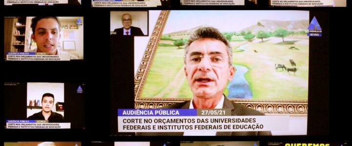 Adufersa participa de audiência pública sobre riscos que cortes orçamentários da União trazem para Educação no RN