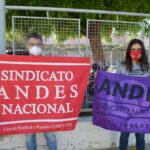 ADUFERSA participa de atividades da Greve Geral contra a Reforma da Previdência